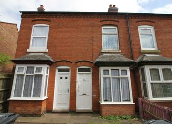 Thumbnail 2 bedroom terraced house for sale in Primrose Avenue, Poplar Road, Sparkhill, Birmingham, West Midlands