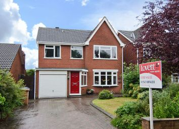 Thumbnail 4 bed detached house for sale in Highfields, Chase Terrace, Burntwood
