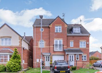 Thumbnail 3 bedroom town house for sale in Pipistrelle Way, Leicester