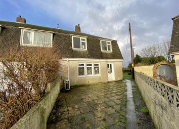 Thumbnail 3 bed end terrace house for sale in Carnmenellis, Redruth