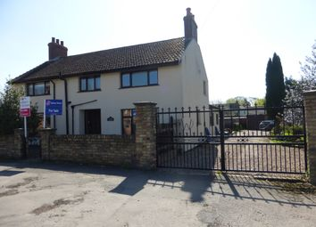 Thumbnail 4 bed detached house for sale in Cross Lane, Amcotts, Scunthorpe