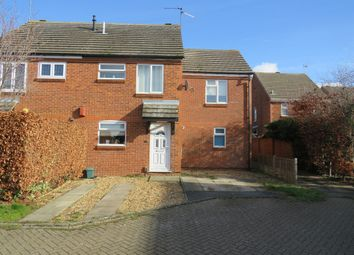 Thumbnail 3 bedroom semi-detached house for sale in Knowles Close, Rushden