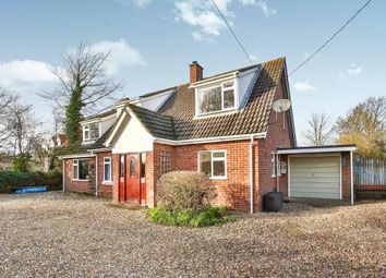 Thumbnail 4 bed detached house for sale in Hackford, Wymondham, Norfolk