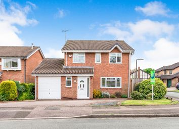 Thumbnail 4 bed detached house for sale in Henley Close, Tamworth