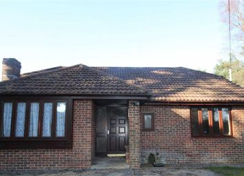 Thumbnail 3 bed detached bungalow to rent in Hurn Road, Matchams, Ringwood