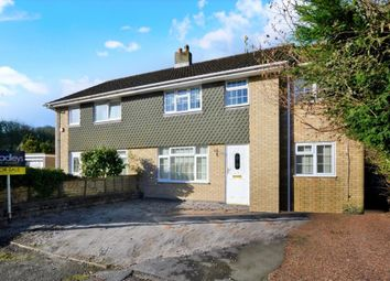 Thumbnail 4 bed semi-detached house for sale in Yeomans Way, Plymouth, Devon