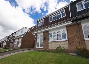 Thumbnail 3 bed semi-detached house for sale in High Croft Close, Dukinfield