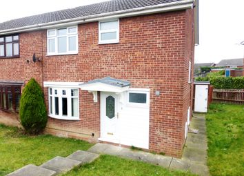 Thumbnail 3 bed semi-detached house for sale in Foxcote Lea, Thrybergh, Rotherham