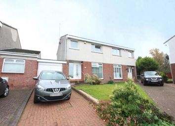 Thumbnail 3 bed semi-detached house for sale in Glenwood Court, Lenzie, Glasgow