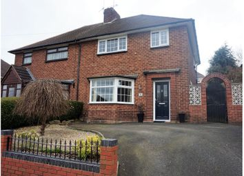 Thumbnail 3 bedroom semi-detached house for sale in Talbot Road, Dudley