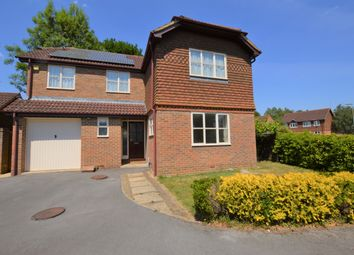 Thumbnail 4 bed detached house to rent in Bergania Court, West End, Woking, Surrey