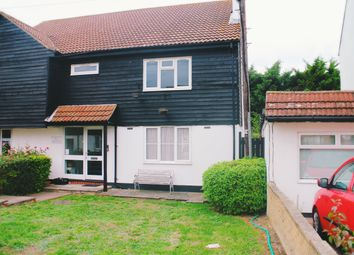 Thumbnail 1 bed flat to rent in Ashwood Avenue, Rainham