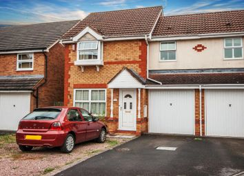 Thumbnail 3 bed semi-detached house for sale in Hodds Hill, Peatmoor, Swindon