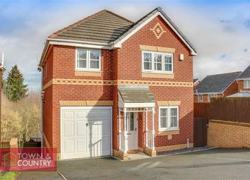 Thumbnail 4 bedroom detached house for sale in Ffordd Kinderley, Connah's Quay, Deeside, Flintshire