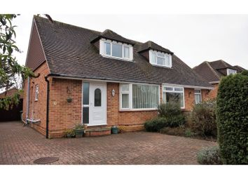 Thumbnail 3 bed semi-detached bungalow for sale in Francis Place, Stubbington, Fareham