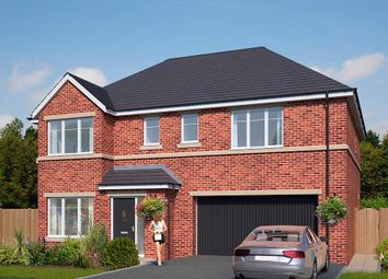 "Thumbnail 5 bed detached house for sale in ""The Cotham"" at Standbridge Lane, Crigglestone, Wakefield"