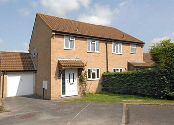 Thumbnail 3 bed semi-detached house to rent in Bagnols Way, Newbury