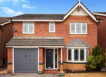 Thumbnail 4 bed detached house for sale in Bramble Close, Middlewich