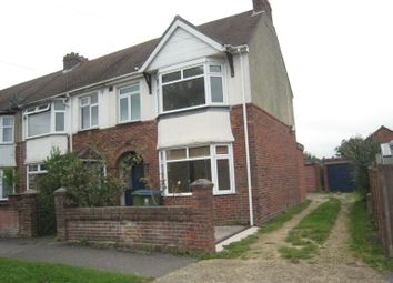 Thumbnail 3 bedroom end terrace house to rent in Leigh Road, Fareham