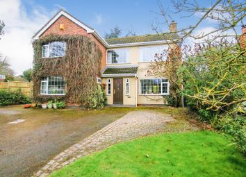 Thumbnail 4 bed detached house for sale in School Lane, Stretton On Dunsmore, Rugby