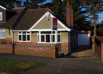 Thumbnail 2 bedroom bungalow to rent in Charnwood Avenue, Northampton