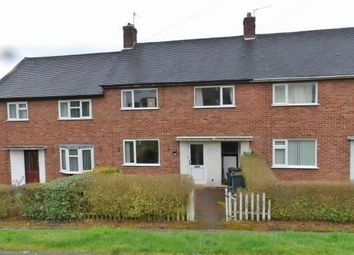 Thumbnail 3 bed terraced house for sale in Leaswood Place, Newcastle, Staffordshire