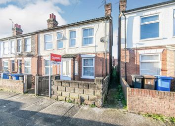 Thumbnail 3 bed end terrace house for sale in Riverside Road, Ipswich