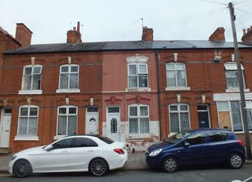 Thumbnail 2 bed terraced house to rent in Roslyn Street, Off St Peters Road, Leicester