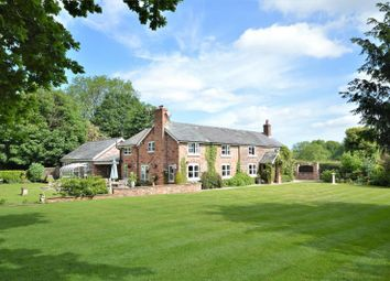 Thumbnail 3 bed detached house for sale in Back Lane, Higher Whitley, Warrington