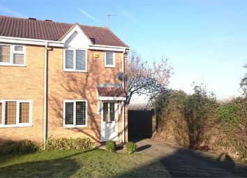 Thumbnail 2 bedroom semi-detached house to rent in Manton Close, Broughton Astley, Leicester