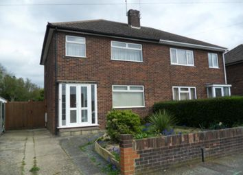 Thumbnail 3 bed semi-detached house to rent in Canterbury Road, Werrington, Peterborough