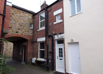 Thumbnail 1 bed terraced house for sale in Currys Buildings, Morpeth