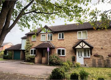 Thumbnail 2 bed terraced house for sale in Fletcher Close, Claydon