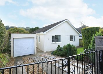Thumbnail 3 bed detached bungalow for sale in Shute Park Road, Plymstock, Plymouth