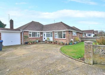Thumbnail 3 bed detached bungalow for sale in Manor Road, North Lancing, West Sussex