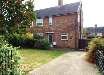 Thumbnail 3 bed semi-detached house for sale in Hanslope Crescent, Bilborough, Nottingham, Nottinghamshire