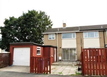 Thumbnail 3 bed semi-detached house to rent in Burt Close, Haswell, Durham