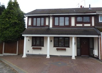 Thumbnail 4 bed semi-detached house for sale in Burrows Road, Kingswinford