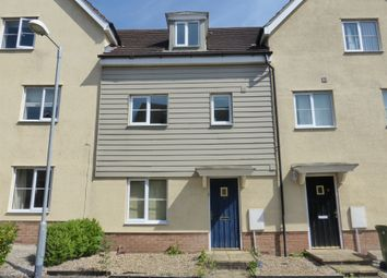 Thumbnail 4 bed terraced house for sale in Magnolia Way, Costessey, Norwich