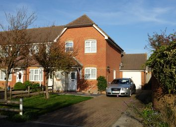 Thumbnail 3 bed end terrace house to rent in Heron Forstal Avenue, Hawkinge