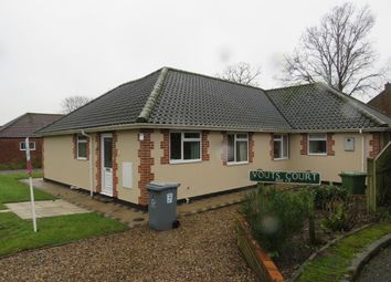 Thumbnail 1 bedroom bungalow to rent in Pightle Way, Reepham, Norwich