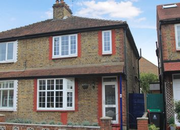 Thumbnail 2 bed semi-detached house for sale in Buckingham Road, Kingston Upon Thames