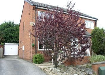 Thumbnail 2 bed semi-detached house for sale in Larchdale Close, Broadmeadows, South Normanton, Alfreton