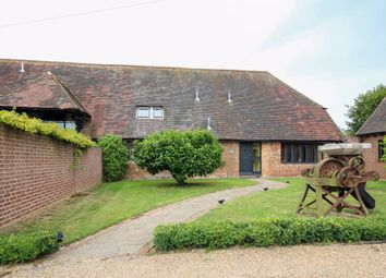 Thumbnail 4 bed barn conversion to rent in Chillenden, Canterbury
