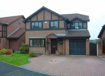 Thumbnail 4 bed detached house for sale in Gardd Eithin, Northop Hall, Mold, Flintshire