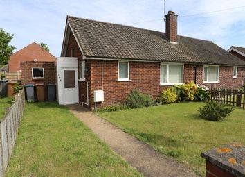 Thumbnail 1 bed semi-detached bungalow for sale in Grange Road, Felixstowe