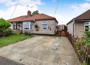 Thumbnail 3 bed semi-detached bungalow for sale in Lampits Hill Avenue, Corringham, Stanford-Le-Hope