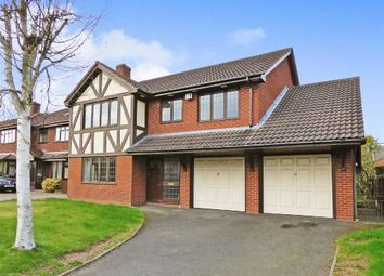 Thumbnail 4 bed detached house for sale in Chaseley Croft, Cannock, Staffordshire