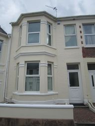 Thumbnail 4 bedroom shared accommodation to rent in Welbeck Avenue, Mutley, Plymouth