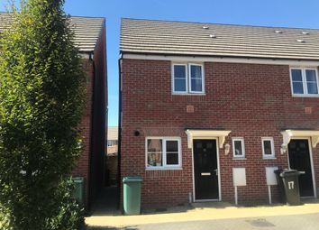 Thumbnail 2 bed end terrace house for sale in Lander Crescent, Peterborough